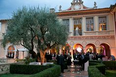 """Chateau in Grasse: """"The Perfume Capital of the World"""" Wedding in France with One and Only Paris"""