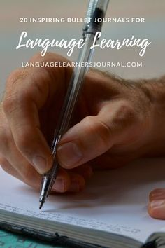20 Inspiring Bullet Journals for Language learning – Language Learners Journal