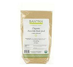 Banyan Botanicals Amalaki (Amla) Powder, 1/2 Pound - USDA Organic - Emblica officinalis - Ayurvedic Antioxidant for Hair, Skin, & Digestion*