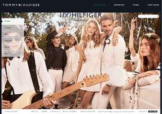 """Tommy Hilfiger Website - """"WebSphere Commerce made"""" #webspherecommercemade #ecommerce"""