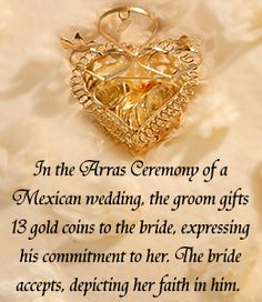 Mexican wedding tradition