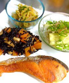 Salmon teishoku