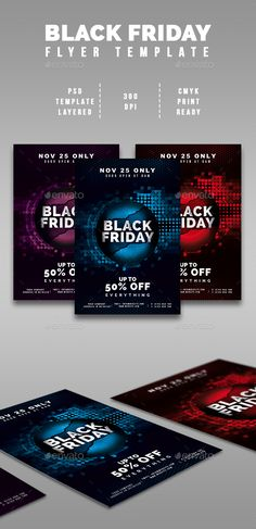 Black Friday 3 Flyers