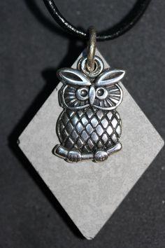 Sautoir, pendentif béton de bijouterie, breloque : Collier par mado-lyne-s