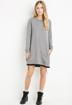 http://www.forever21.com/shop/ca/en/women-dresses/p/drawstring-sweatshirt-dress-2000154098--1001