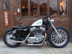 Cafe Racer Pasión — Harley Davidson Bobber by Gratia Industry |... #harleydavidsonsporster