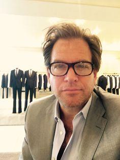 """Some summer shopping at Giorgio Armani... Preparing NYC summer shooting of Bull."" ~ Michael Weatherly"
