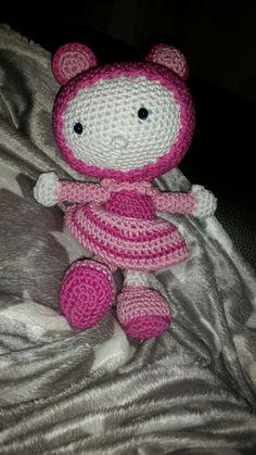 Little pink girl #crochet #haken