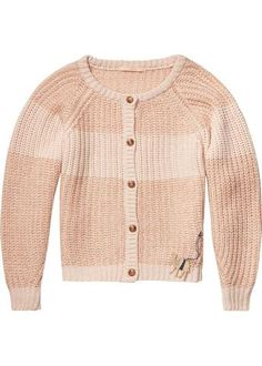 Maison Scotch Cardigan pudderrosa 134103 Mohair-Wool Mix Cardigan atlas pink melange – Acorns
