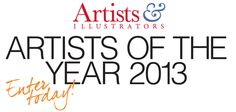 Open art competition – Enter now! Artists & Illustrators Artists of the Year 2013