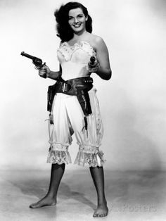 The Paleface is a hilarious comedy-Western that pairs our Star of the Month, Jane Russell, with the legendary Bob Hope! Jane Russell, Cow Girl, Classic Hollywood, Old Hollywood, Image Swagg, Cinema Tv, Vintage Cowgirl, Le Far West, Thing 1