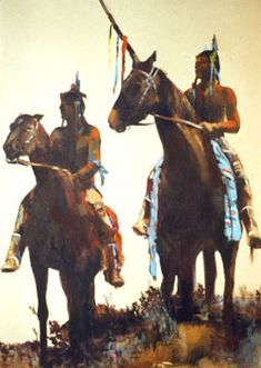 Native American Indian Oil Paintings - Patricia Kortt, Artist