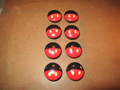 Mickey Mouse Dresser Knobs by HawkesHollow on Etsy, $6.00