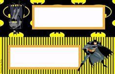 Batman Kit festa grátis para imprimir Inspire sua Festa - Batman Printables - Ideas of Batman Printables - Batman Kit festa grátis para imprimir Inspire sua Festa Batman Party, Batman Birthday, Superhero Party, Boy Birthday, Birthday Ideas, Foto Iman, Batman Room, School Labels, Instagram Frame