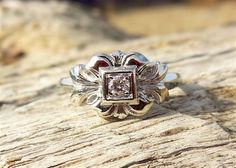 Hey, I found this really awesome Etsy listing at https://www.etsy.com/listing/261571407/vintage-antique-10ct-diamond-unique