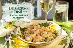 Want to impress your family and friends this holiday season? This delectable shrimp dish is bursting with flavors of lemon and garlic and is finished with a creamy alfredo sauce that will melt in your mouth. Shrimp never tasted so good. - www.facebook.com/LaFamigliaDelGrosso