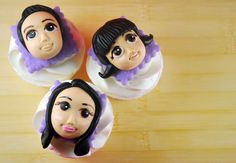 How to Make Cupcake Faces (Intermediate Version) - Bake Happy