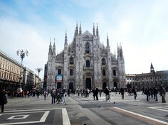 Il Duomo di Milano #piazzadelduomo #Milano #duomo