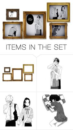 """:b"" by fashion12gamer ❤ liked on Polyvore featuring art"