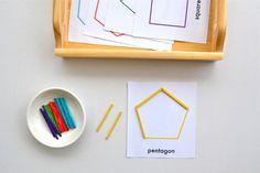 Modern Parents Messy Kids: Make Like a Montessori Mama: Part 4 - Shape Activities