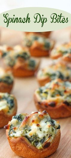 Spinach Dip Bites                                                                                                                                                                                 More