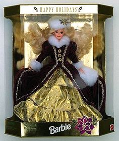 1996 Holiday Barbie Doll... I still have it, along with the others. #90s