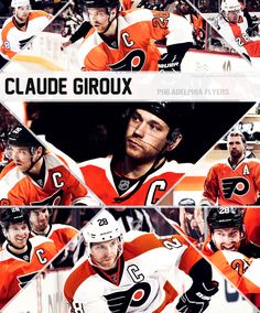 Claude Giroux Flyers Hockey, Ice Hockey Teams, Hockey Stuff, Hockey Players, Fly Eagles Fly, Philadelphia Flyers, Bullies, Nhl, Sport