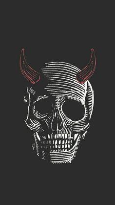 to drawing a skull Skull Wallpaper, Dark Wallpaper, Wallpaper Backgrounds, Iphone Wallpaper, Tattoo Crane, Skeleton Art, Skeleton Bones, Art Graphique, Skull Art
