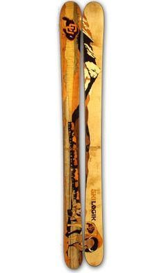 CU Buffs Skis!  Gotta have these for next season.