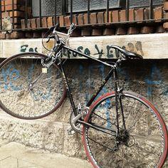 Hoy castigada para que no te mojes. Cycling