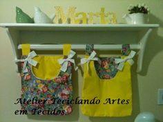 Teciclando Artes em Tecidos: Pro quarto de Maria