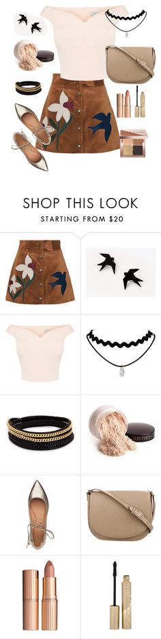 """""""Untitled #158"""" by aazraa ❤ liked on Polyvore featuring RED Valentino, Vita Fede, Laura Mercier, Sigerson Morrison, CÉLINE, Charlotte Tilbury, Stila and Bobbi Brown Cosmetics"""