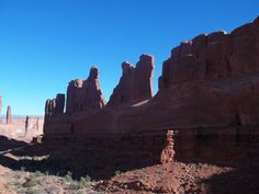 Park Avenue  -  another stop in Arches, Moab