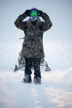 @holdenouterwear #snowboarding #winter #sledland