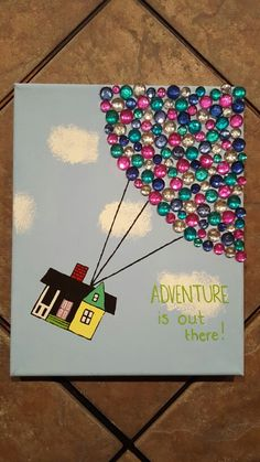 Up Canvas - Adventure is out there