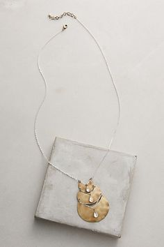 Moondrop Necklace #anthropologie