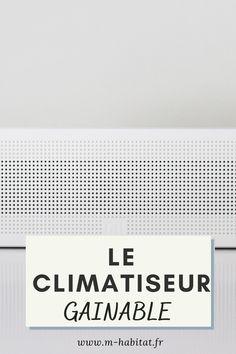 Climatiseur gainable : découvrez cette climatisation pour votre maison. Silencieuse et design, le climatiseur gainable peut également réaliser des économies de chauffage. #climatisation #maison #climatiseur #gainable #chauffage #installation #centrale #plafond #apparente #design #installation #plan Design, Ceiling, Home