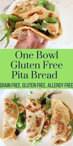 One Bowl Gluten Free Pitas (Grain Free, Nut Free, Allergy Free) — Living Naturally Autoimmune