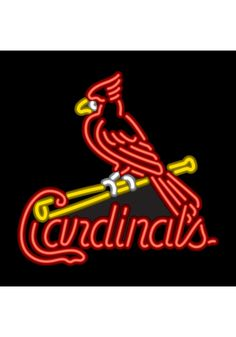St. Louis Cardinals Neon Sign- MLB Man Cave Sign, perfect Christmas gift for the Cardinals fan in your life!
