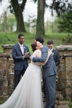 Spring wedding ceremony - Historic Shady Lane Wedding Photographer