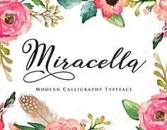 """Check out new work on my @Behance portfolio: """"Miracella Script"""" http://on.be.net/1KdlBxg"""