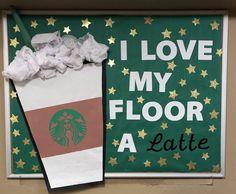 Coffee RA Bulletin Board