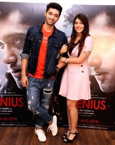 Bollywood Couples, Bollywood Actors, Genius Movie, Cutest Couple Ever, Dressing Sense, Stylish Girl Images, Mp3 Song Download, Girls Image, Cute Couples