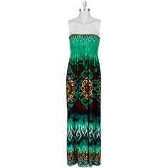Bailey Blue Juniors Printed Maxi Dress #VonMaur