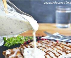 salsa de yogurt Kebab - Receta original de myTaste Pudding, The Originals, Desserts, Food, Juicing, Finger Foods, Deserts, Entrance Halls, Tailgate Desserts
