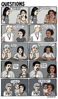 White privilege still exists, people. It's real and it's really annoying. Women's rights and racism needs to be fought together. Inequalities are still very prevalent in our culture and the only way to change them is to join forces.
