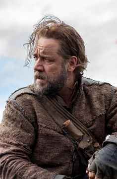 Russell Crowe in Darren Aronofsky's upcoming movie Noah (2014). Jennifer Connelly & Emma Watson will star in it also. Current shooting location at Iceland.