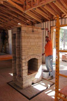 small masonry heater plans free - Google Search