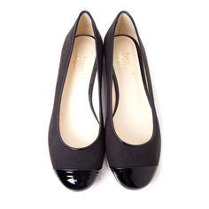 $105 Suni Black Flat Vegan Shoes