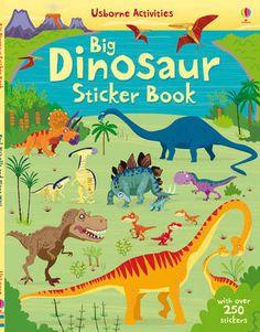 Big Dinosaur Sticker Book (Paperback)